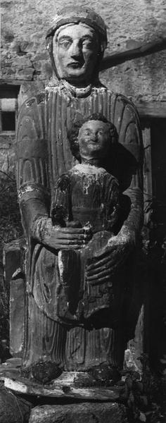 statue : Vierge en majesté, dite Notre-Dame d'Entremont