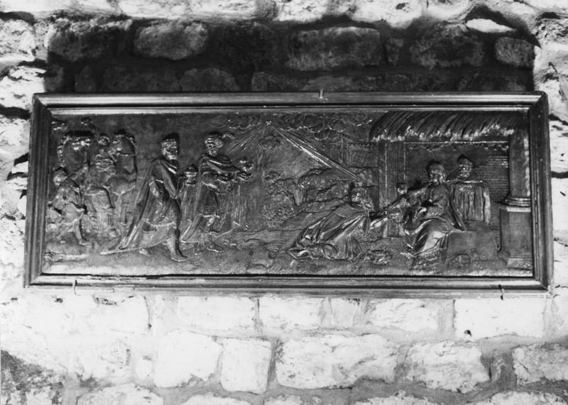 bas-relief : l'Adoration des Mages