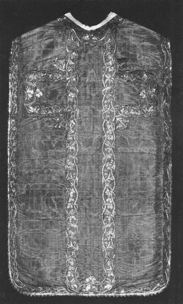 chasuble, double face