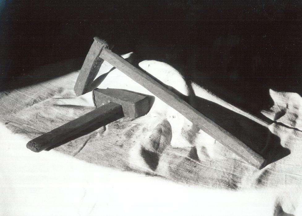 fer à frapper et marteau