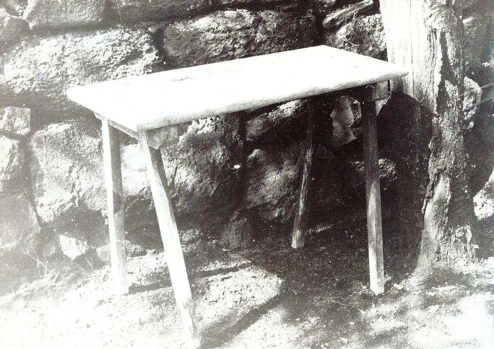 table-établi