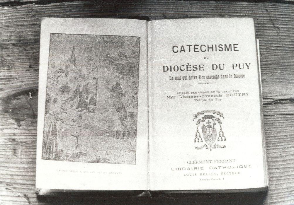 livre : Catéchisme du diocèse du Puy