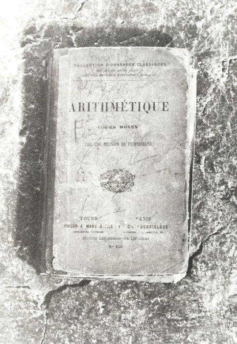 livre : Arithmétique, cours moyen