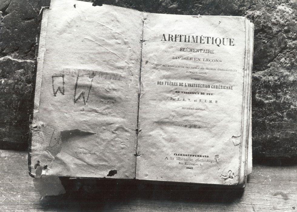 livre : Arithmétique élémentaire