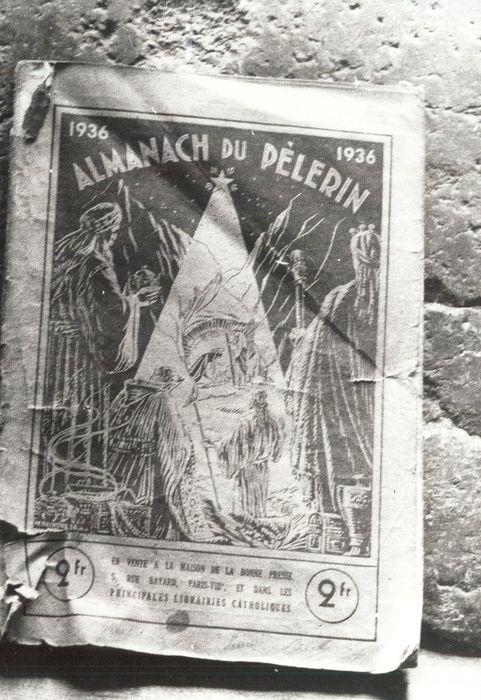 livre : Almanach du Pèlerin