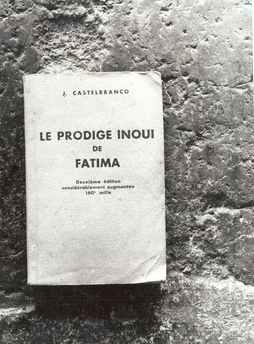 livre : Le Prodige inouï de Fatima, deuxième édition