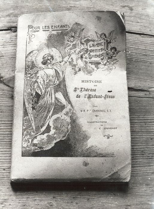 livre : Histoire de Sainte Thérèse de l'Enfant Jésus pour les enfants