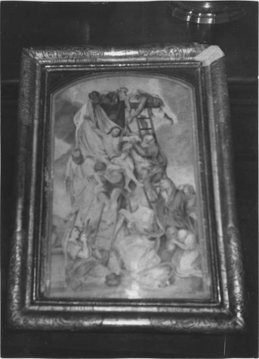 Deux tableaux : Judith et Holopherne et Descente de Croix