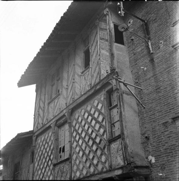 Niveaux supérieurs de la façade