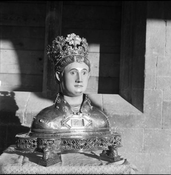 2 bustes-reliquaires : saint Abdon et saint Sennen