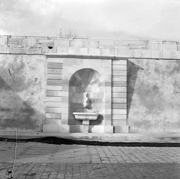 Fontaine après restauration