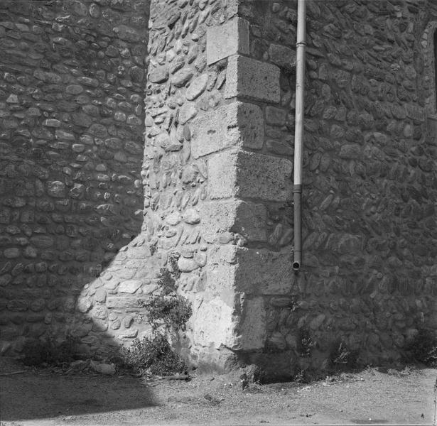 Mur, détail de l'appareil