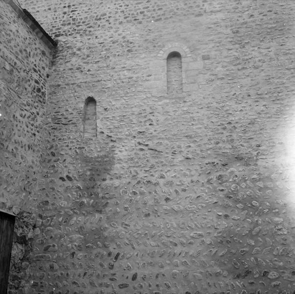 Mur de façade nord