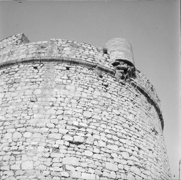 Partie supérieure d'un bastillon