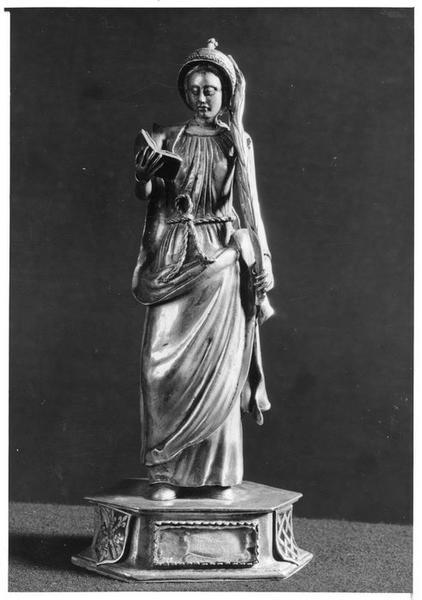 Statuette-reliquaire de sainte Emerance, vue générale