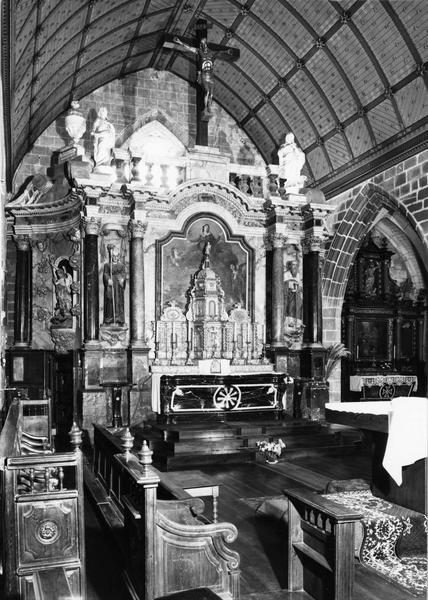 Retable (maître-autel), vue générale