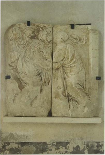 Bas-relief : la Visitation