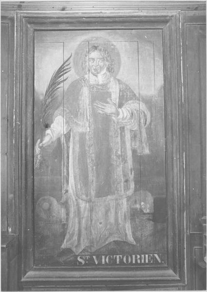 Armoire de sacristie (recto)