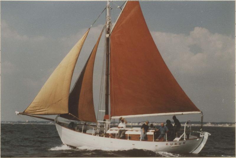 bateau de croisière, bateau de plaisance (cotre norvégien) dit Kurun
