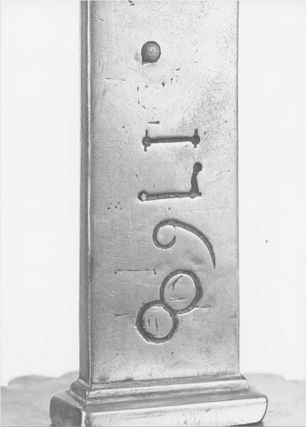 Croix de procession (détail)