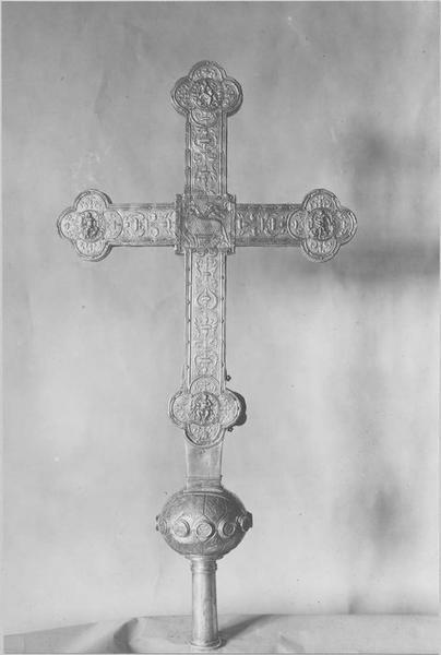 Croix de procession (revers)