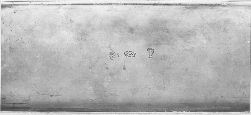 Boîte aux saintes huiles, 2 ampoules aux saintes huiles (détail)