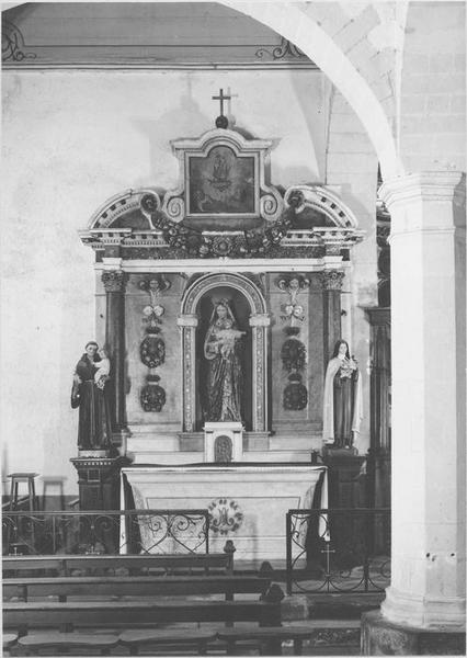 retable (3) (maître-autel)