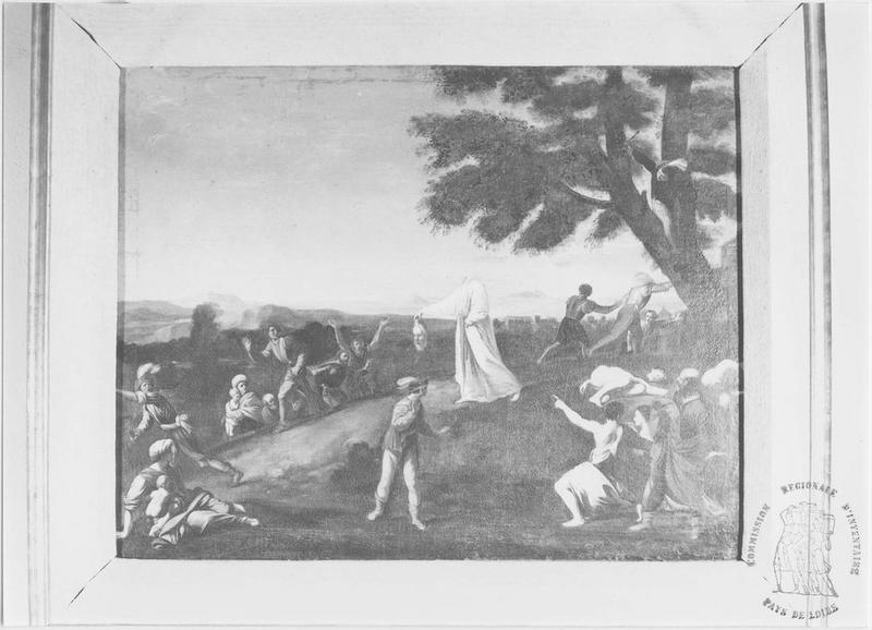 Tableau : la Décollation de saint Denis