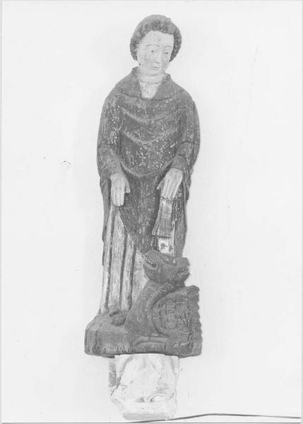 statue : saint Pol de Léon