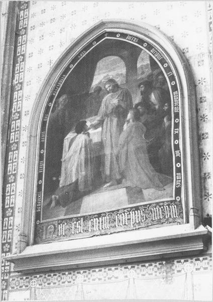 Tableau : la sainte communion