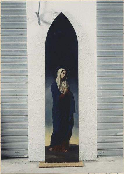 Tableau : Vierge au calvaire