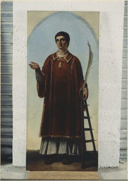 Tableau : saint Laurent, saint Vincent