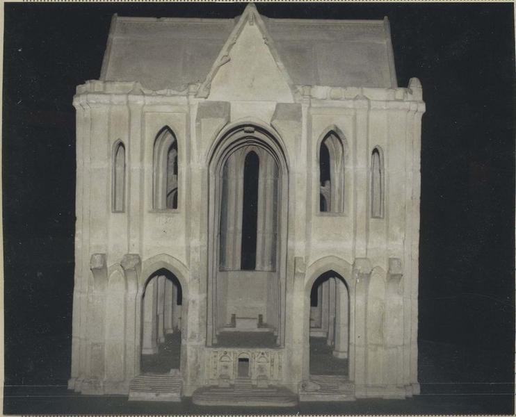 maquette du nouveau choeur de la Cathédrale
