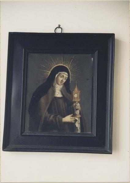 Tableau : portrait de sainte Claire