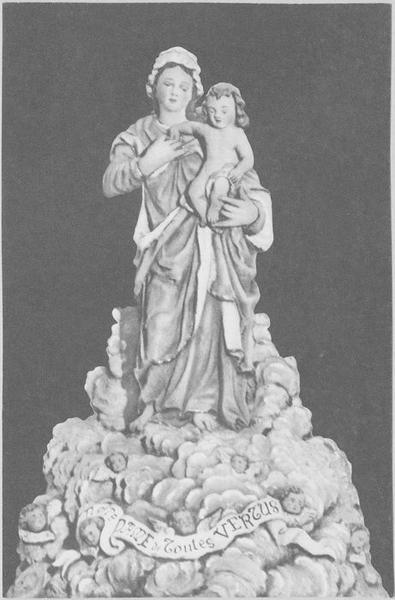 Statue : la Vierge dite Notre-Dame de toutes vertus