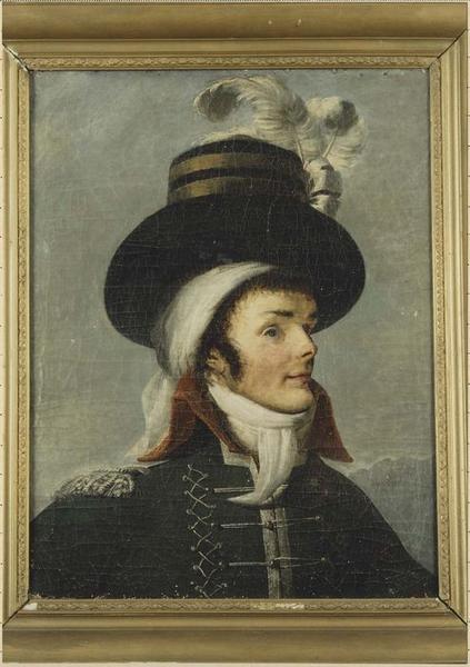 tableau : portrait de Charette, général vendéen