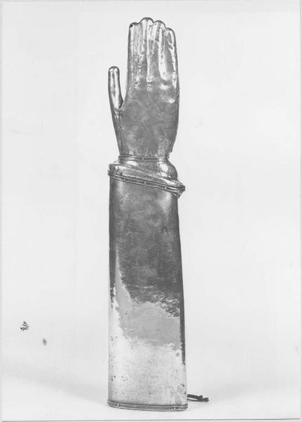 Reliquaire morphologique, de saint Lyphard
