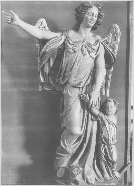 Statue : l'Ange gardien