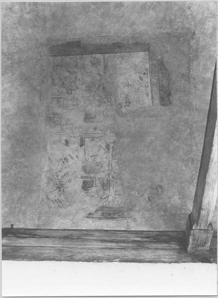 Peinture monumentale : scènes historiées (voûte côté sud)