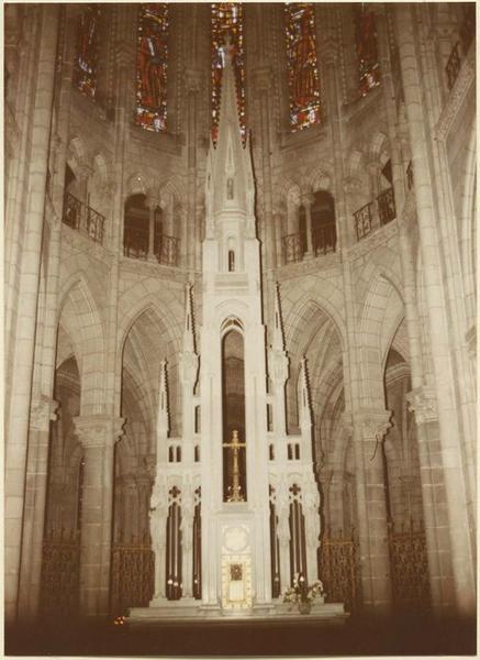 Autel, bas-relief, tabernacle (maître-autel) : la Cène