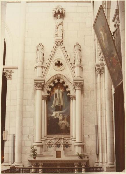 Autel de saint Vincent de Paul