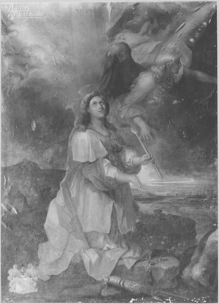 tableau : sainte Geneviève
