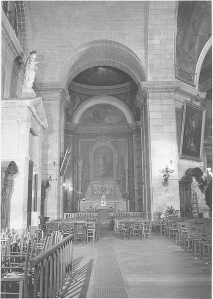 Vue générale d'une abside latérale