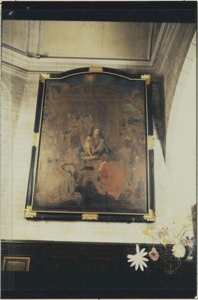 Tableau, cadre : Adoration des Mages