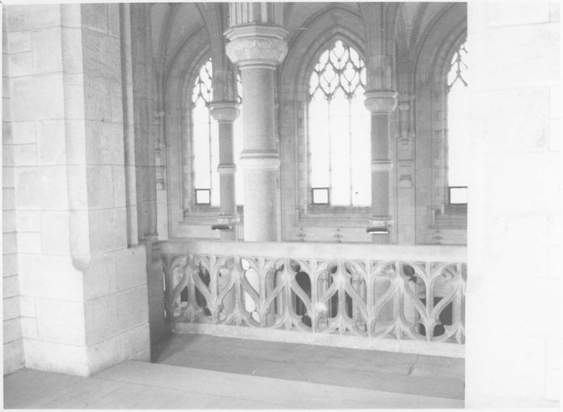 Vue de l'intérieur de l'église
