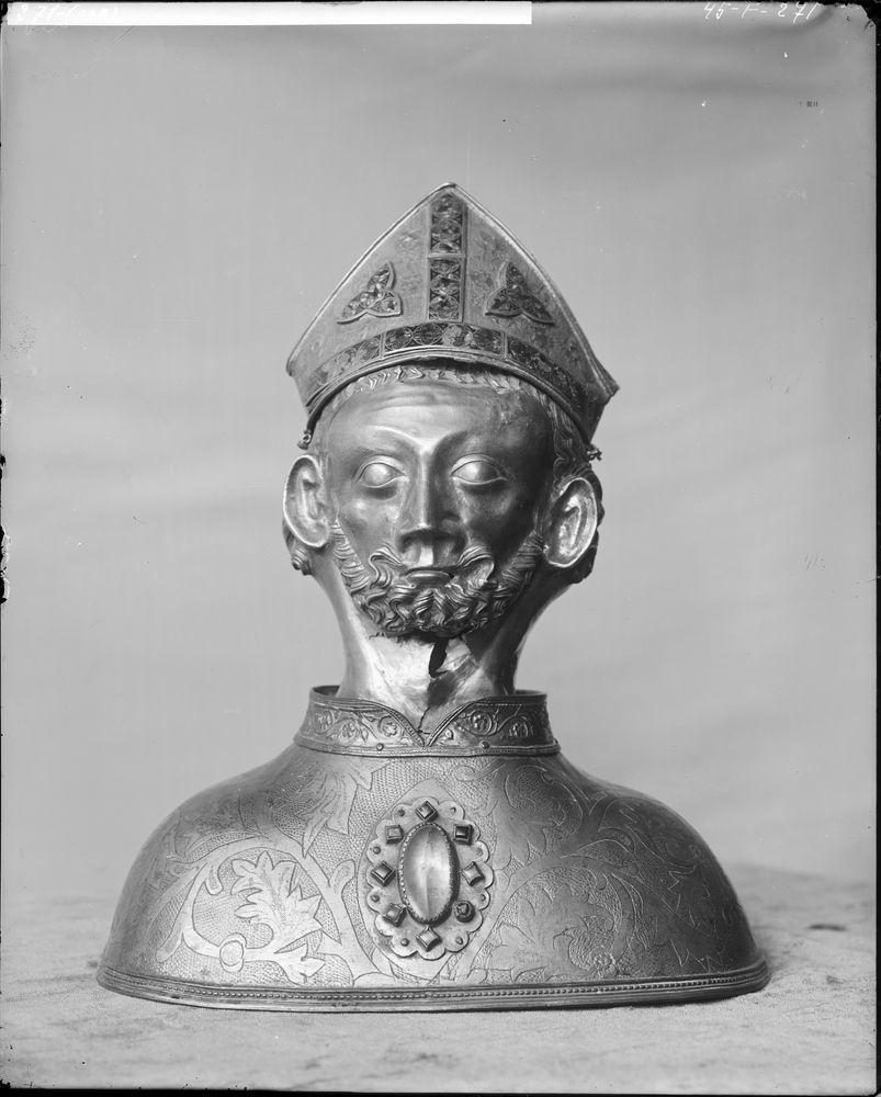 Copie du buste-reliquaire de saint Martin
