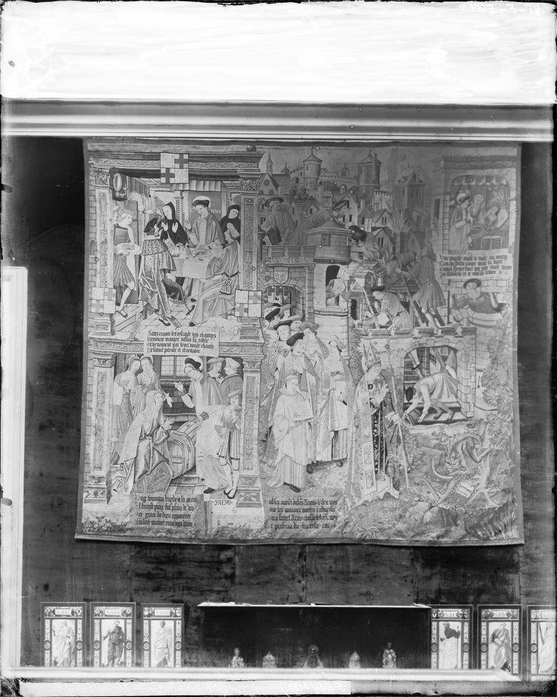 Ensemble de 10 pièces murales : Vie de saint Remy (La)
