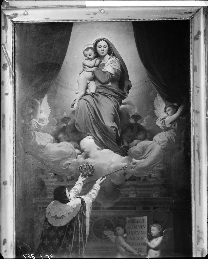 Tableau : le Voeu de Louis XIII