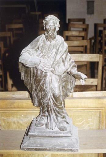 Statue : saint apôtre, 18e siècle