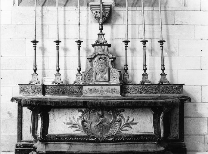 autel, gradin, tabernacle